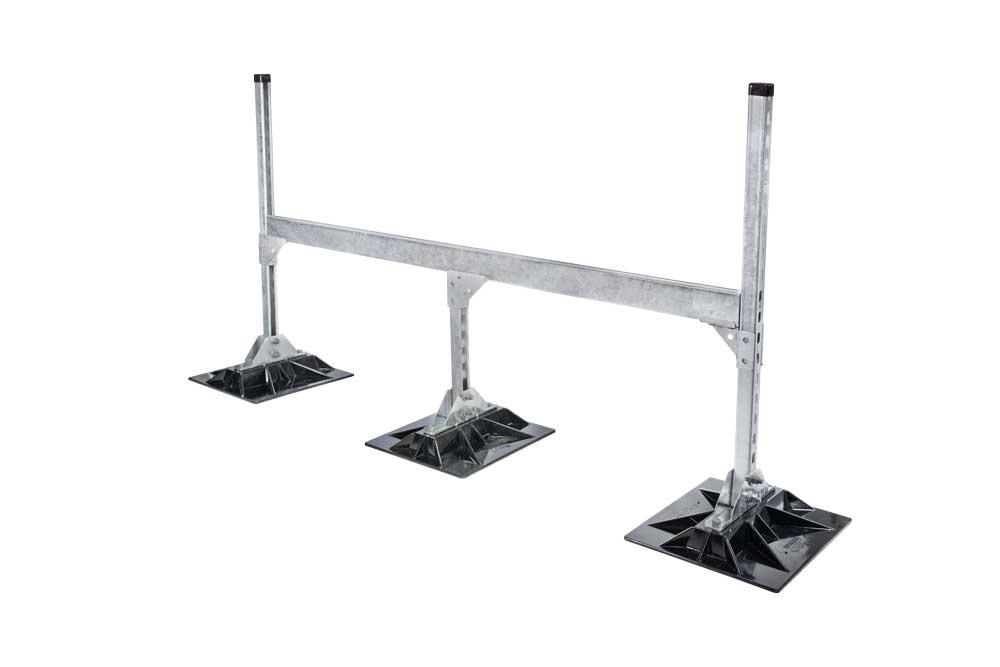 Third Leg Duct Support Frame